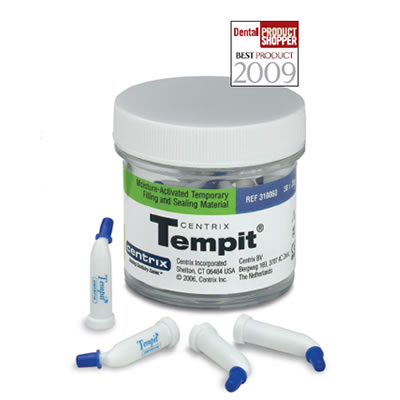 tempit temporary filling and seating material