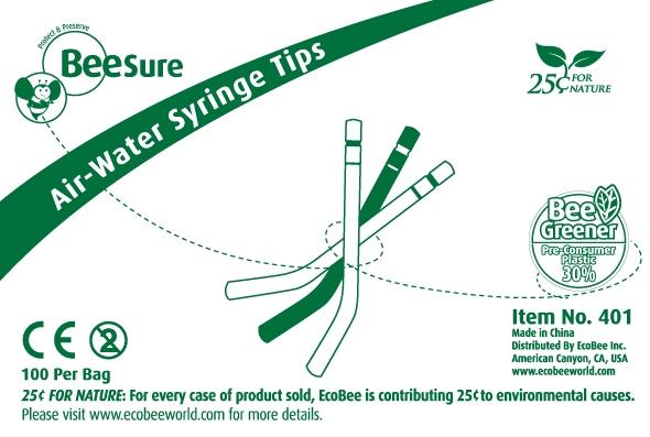 BeeSure Air-Water Syringe Tips