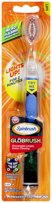 ARM & HAMMER Spinbrush GLOBRUSH