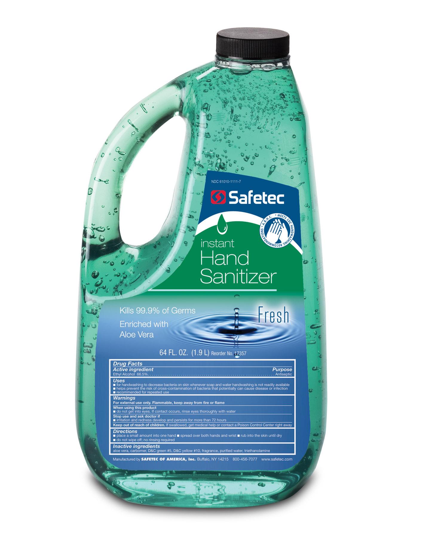 Safetec Instant Hand Sanitizer