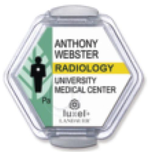 Luxel+ Radiation-Monitoring Badge