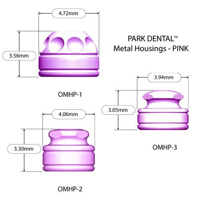 Lew MDI Pink Metal Housings