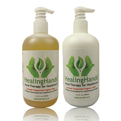 HealingHands Organic Soaps and Lotions