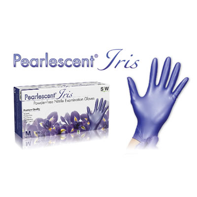PEARLESCENT NITRILE EXAMINATION GLOVES