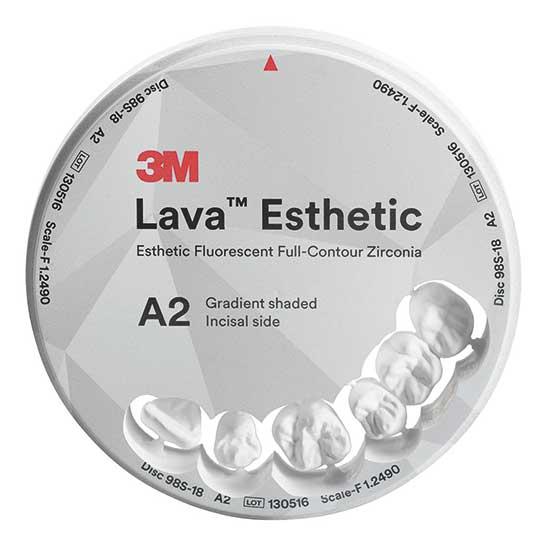 3M™ Lava™ Esthetic Fluorescent Full-Contour Zirconia Disc