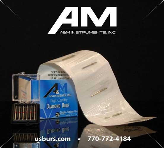 A&M Instruments FG Diamond Burs