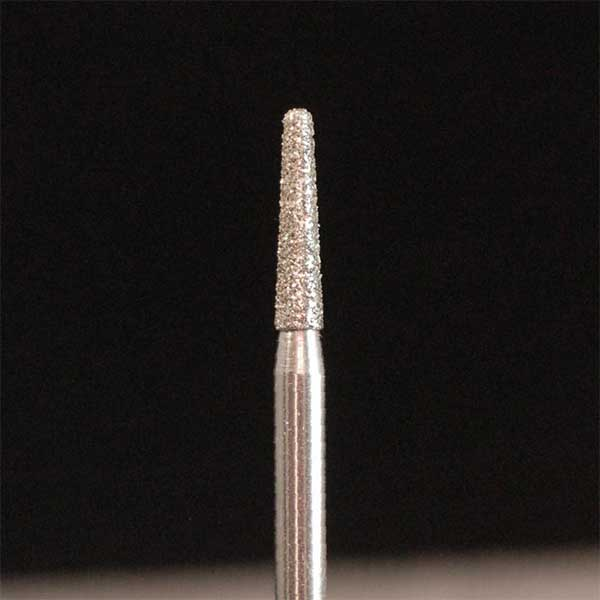 HP Diamond Lab Burs - Round End Taper