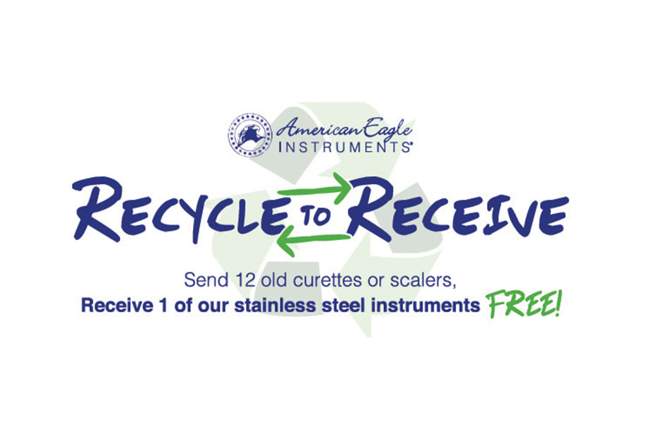 American Eagle Instruments' Recycle to Receive Program
