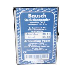 Bausch Arti-Check® Articulating Paper - Box with Sheets, 100 Sheets