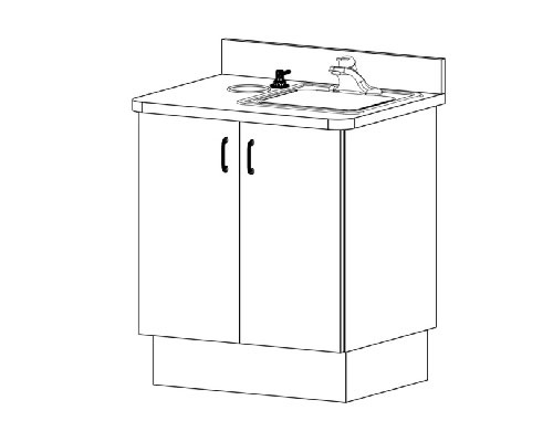 ECO-Sys ECO8 Sink Unit