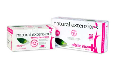 natural extensions Gloves
