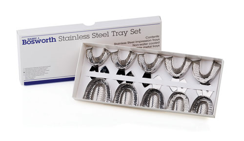 BOSWORTH Stainless Steel Impression Trays