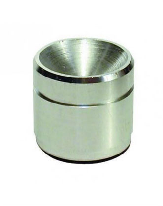 Amalgam Well | Chrome-Plated Brass