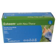 Esteem Stretchy Nitrile Exam Gloves with Neu-Thera