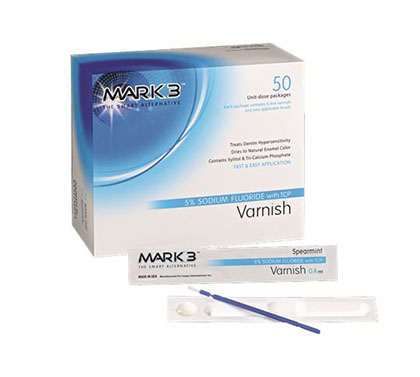 MARK3 Varnish 5% Sodium Fluoride w/ TCP