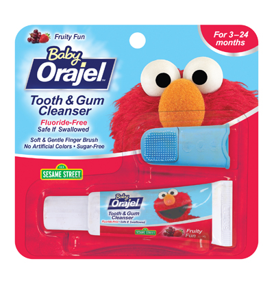 Baby Orajel Finger Brush