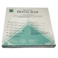 Hygenic Nonlatex Dental Dam - Adults, 6