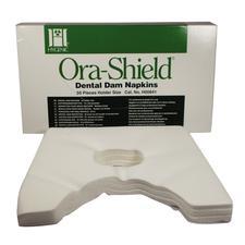 Hygenic® Ora-Shield® Dental Dam Napkin - Holder Size