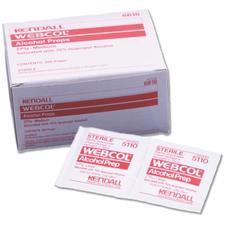 WEBCOL® Alcohol Preps- 200/Box