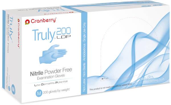 Truly Nitrile Powder-Free Exam Gloves