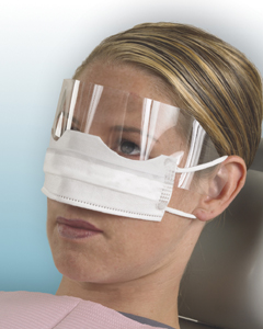 Crosstex Patient Safety Mask with Shield