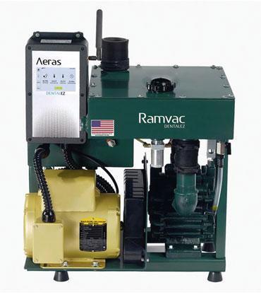 Aeras Dental Vacuums by RAMVAC