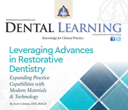 Leveraging Advances in Restorative Dentistry: Online CE Course