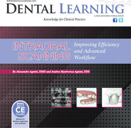 INTRAORAL SCANNING: Improving Efficiency and Advanced Workflow: Online CE Course