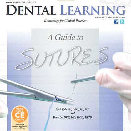 A Guide to Sutures: Online CE Course