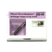 Flexi-Overdenture® EZ-Change® Keeper and Cap Inserts, Intro Kit