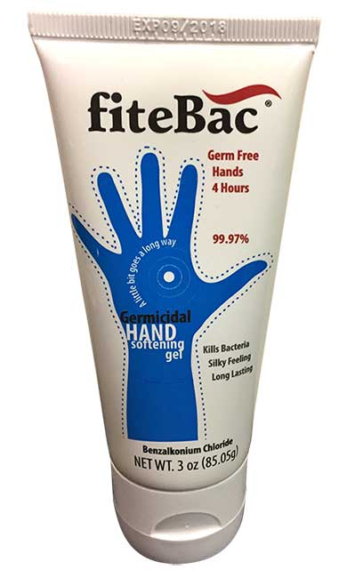 fiteBac SkinCare Germicidal Hand Softening Gel