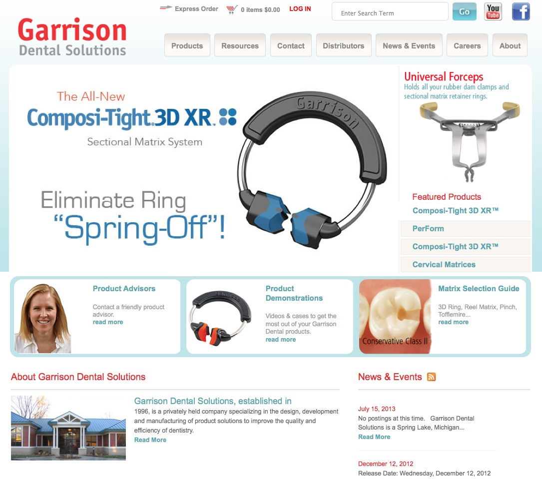 Garrison Launches New Website