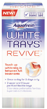 Aquafresh White Trays Revive