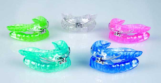 DreamTAP Oral Appliances in 5 Colors