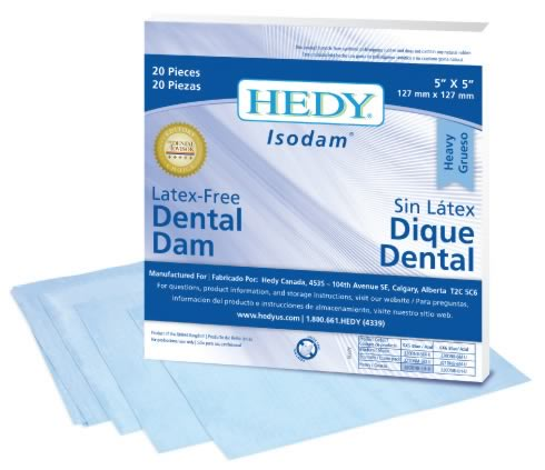 Isodam Non-Latex Dental Dam