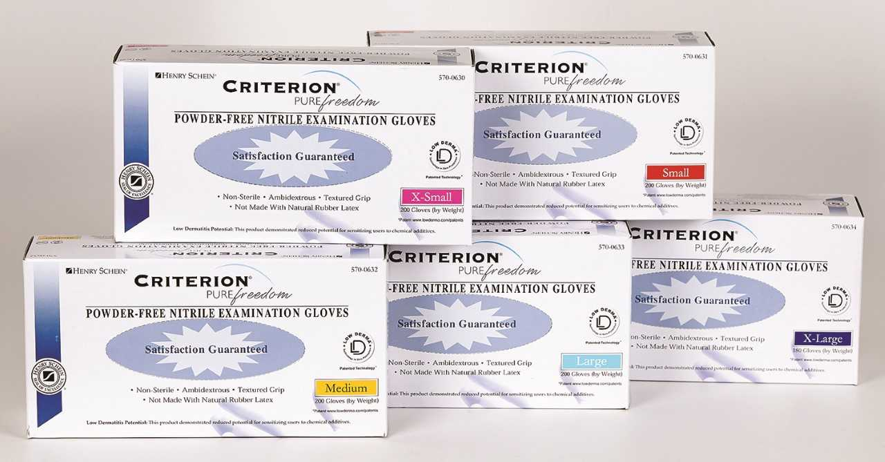 Criterion Pure Freedom Nitrile Gloves