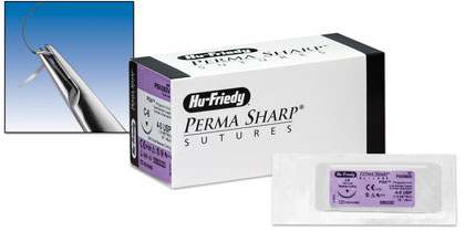 Perma Sharp® Polyglycolic Acid (PGA) Undyed Sutures