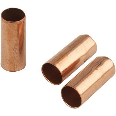 Polished Soft Copper Bands  Refills, 18/:Pkg