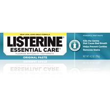 Listerine Essential Care Toothpaste