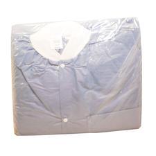 Lab Jackets - Blue, 30/Pkg - Extra Large