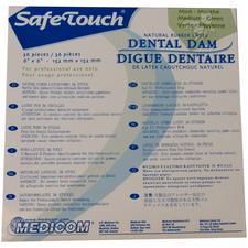 SafeTouch® Dental Dam- Medium Gauge, 6