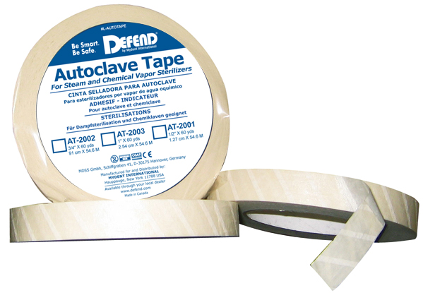DEFEND Sterilization Indicator Tape