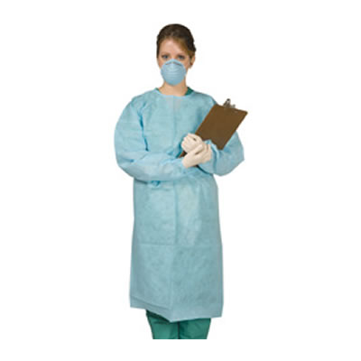 Disposable Tie-Back Protective Gown