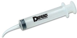 DEFEND Disposable Curved Utility Syringes