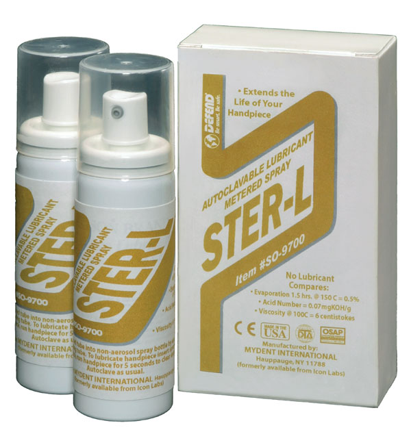 Ster-L Handpiece Cleaner and Lubricant