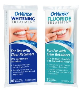 OrVance Whitening andFluoride Treatment