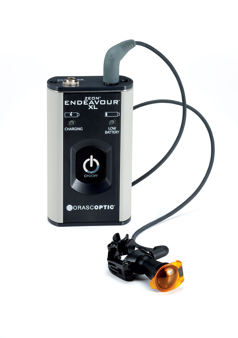Endeavour XL headlight