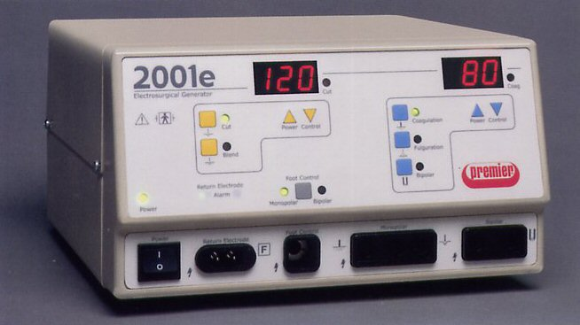 2001e Electrosurgical Unit