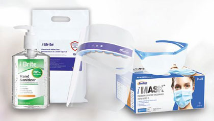 Personal Infection Protection & Clean-Up Kit