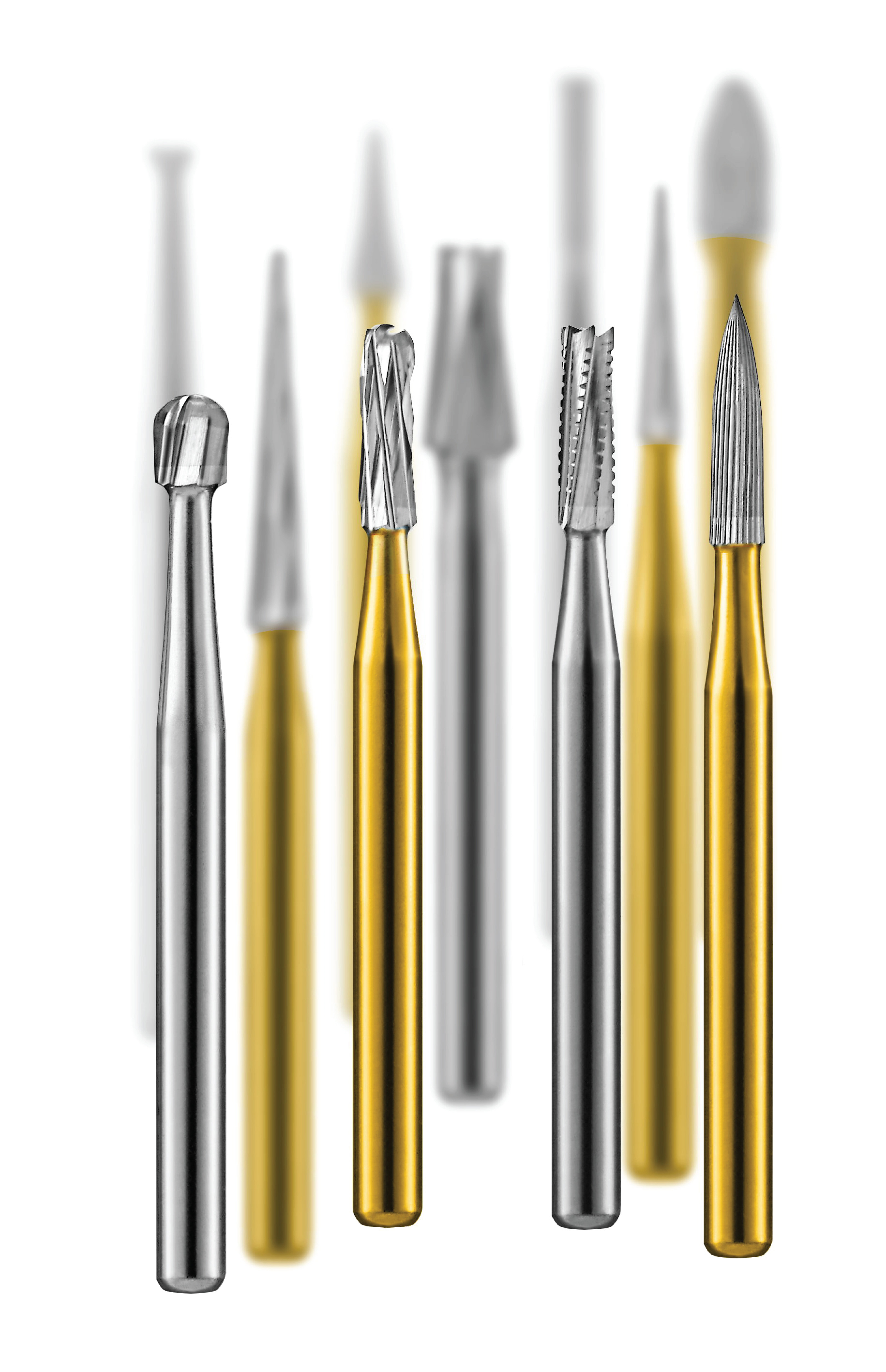 Carbide and Diamond Burs from Pac-Dent